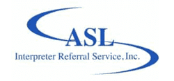 ASLIRS Interpreter Referal Service
