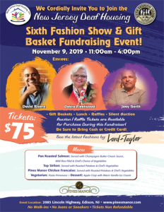Sixth Fashion Show & Gift Basket Fundraising Event